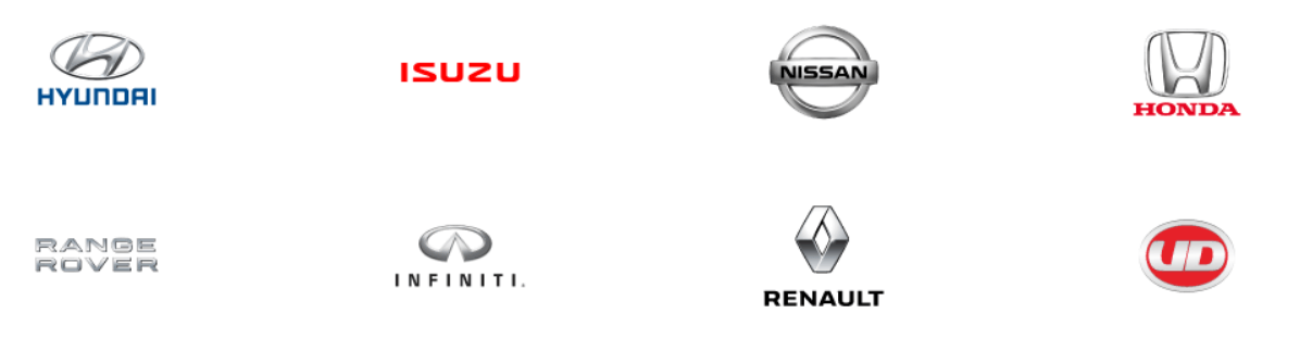 Our Vehicle - Range of brands